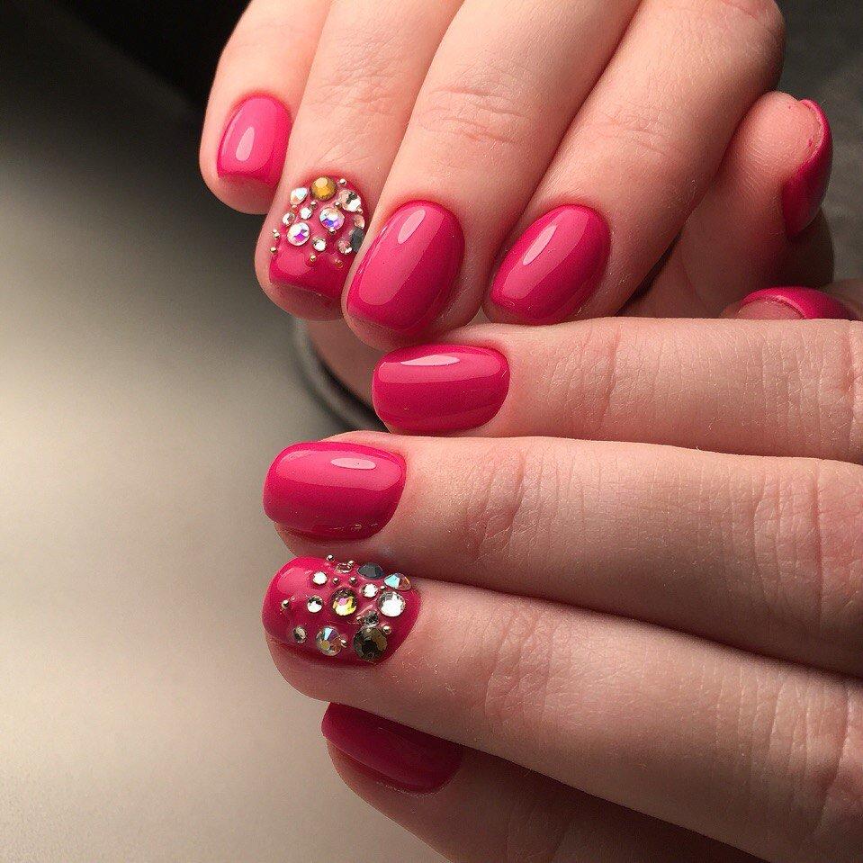 Дизайн коротких ногтей гель лаком фото новинки 2018 на короткие ногти