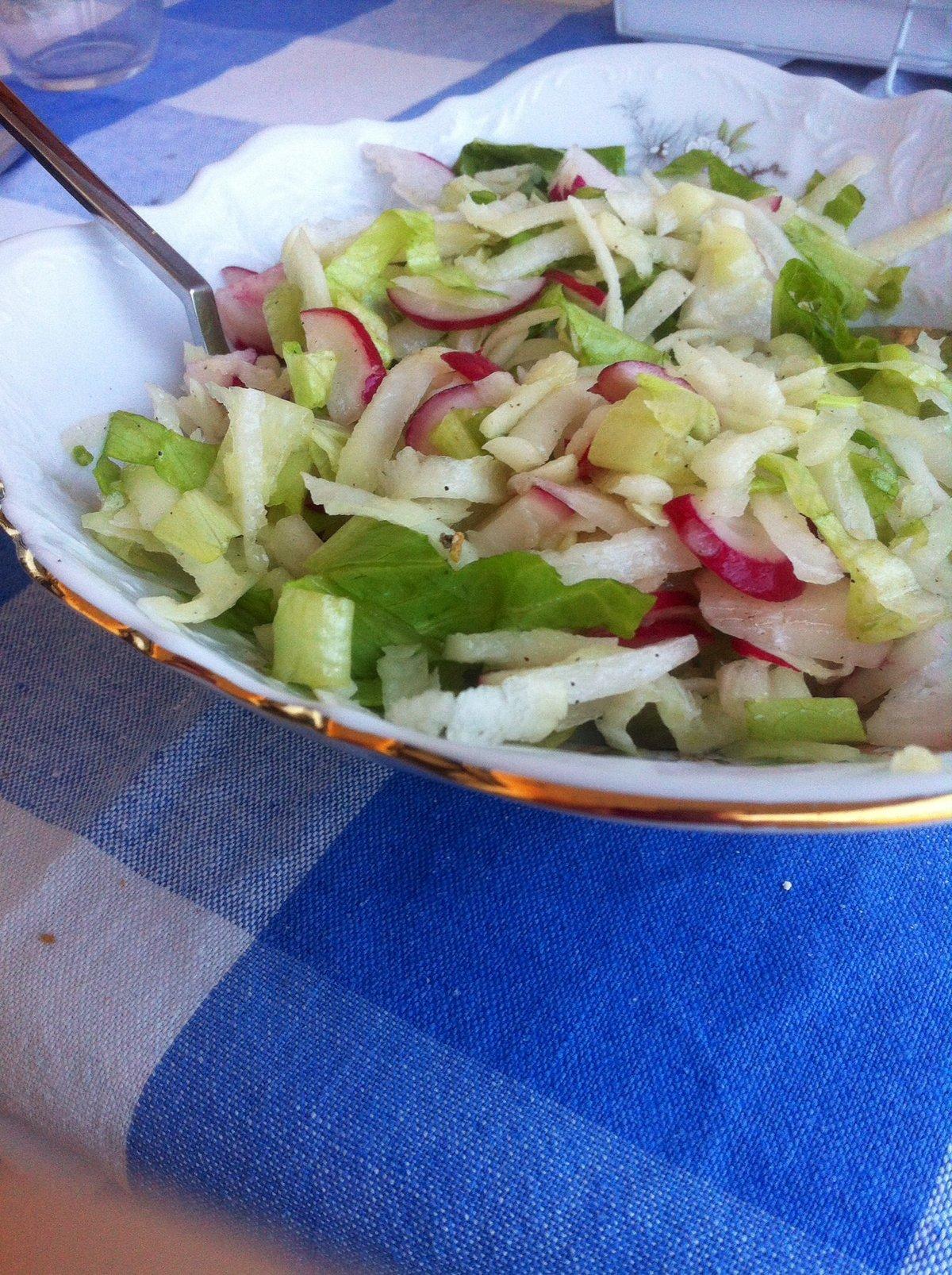 Кольраби рецепты приготовления салат
