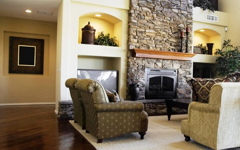 Декоративный камины в интерьере гостиной фото своими руками