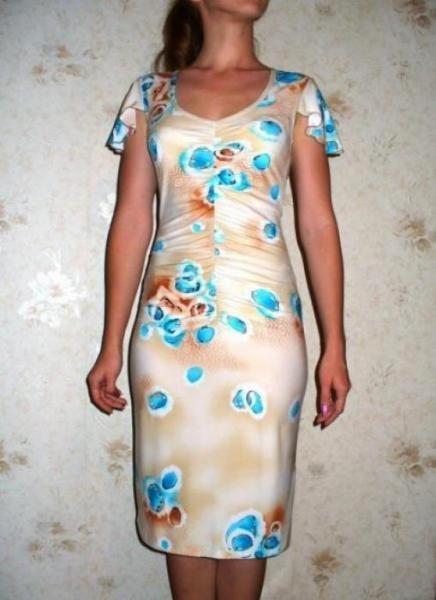 Платья сшитые на домуфото