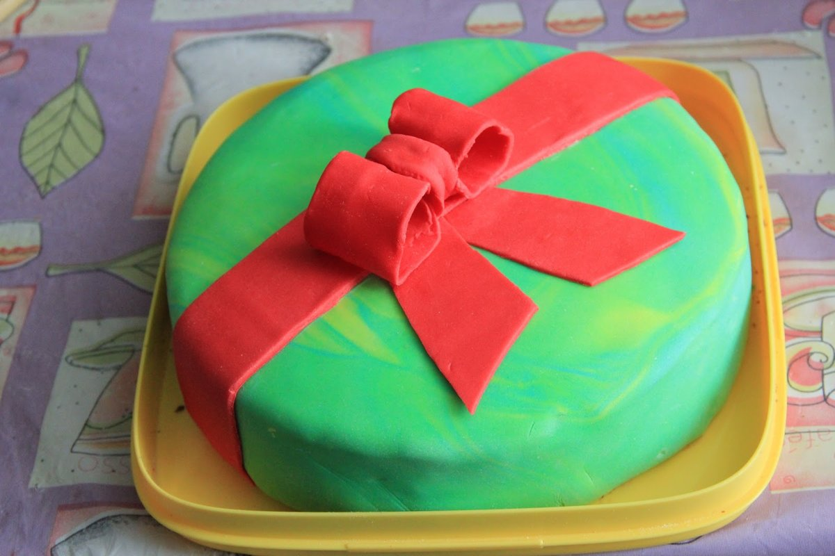 Как сделать торт для девочек из мастики пошагово с