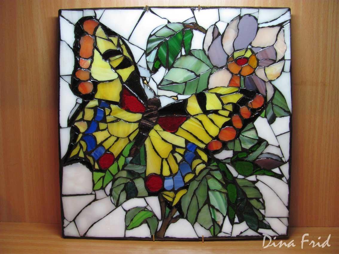 Мастер класс мозаика из стекла своими руками 35