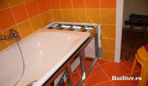 Закрыть ванную своими руками 138