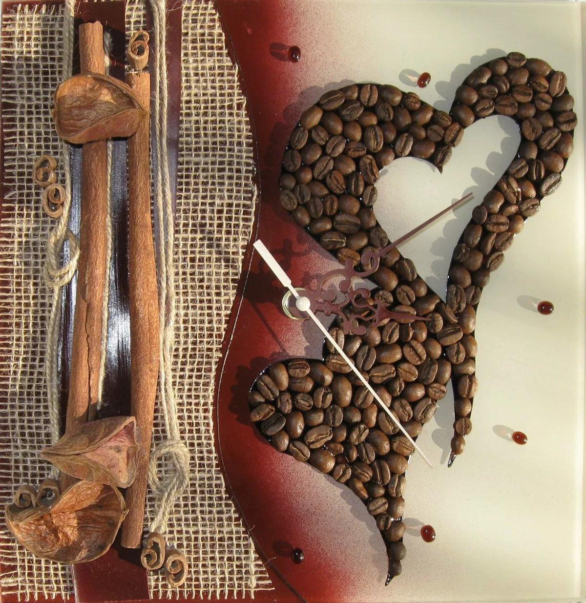 Поделки из кофейных зерен цена