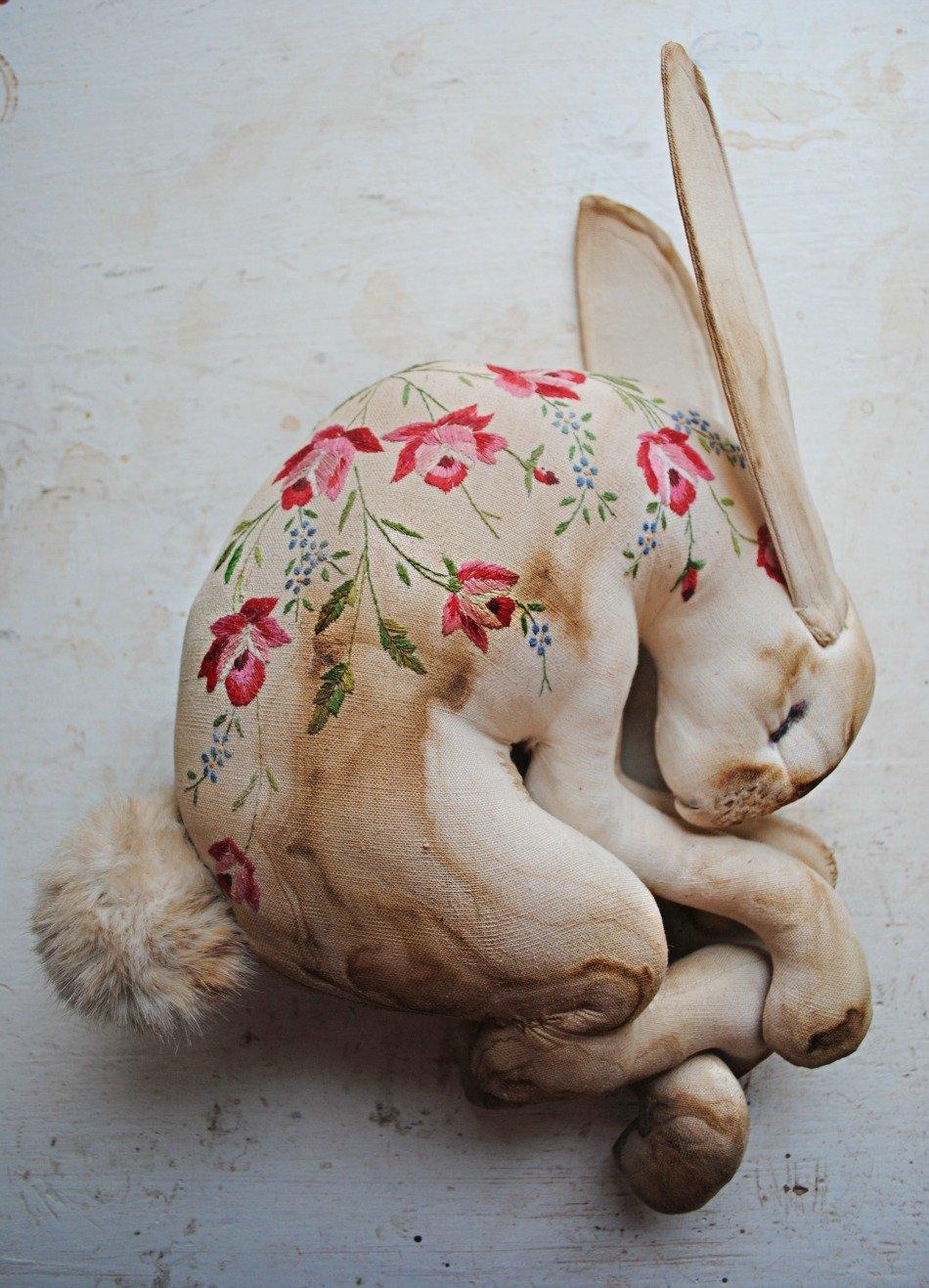Необычные игрушки из текстиля своими руками 62