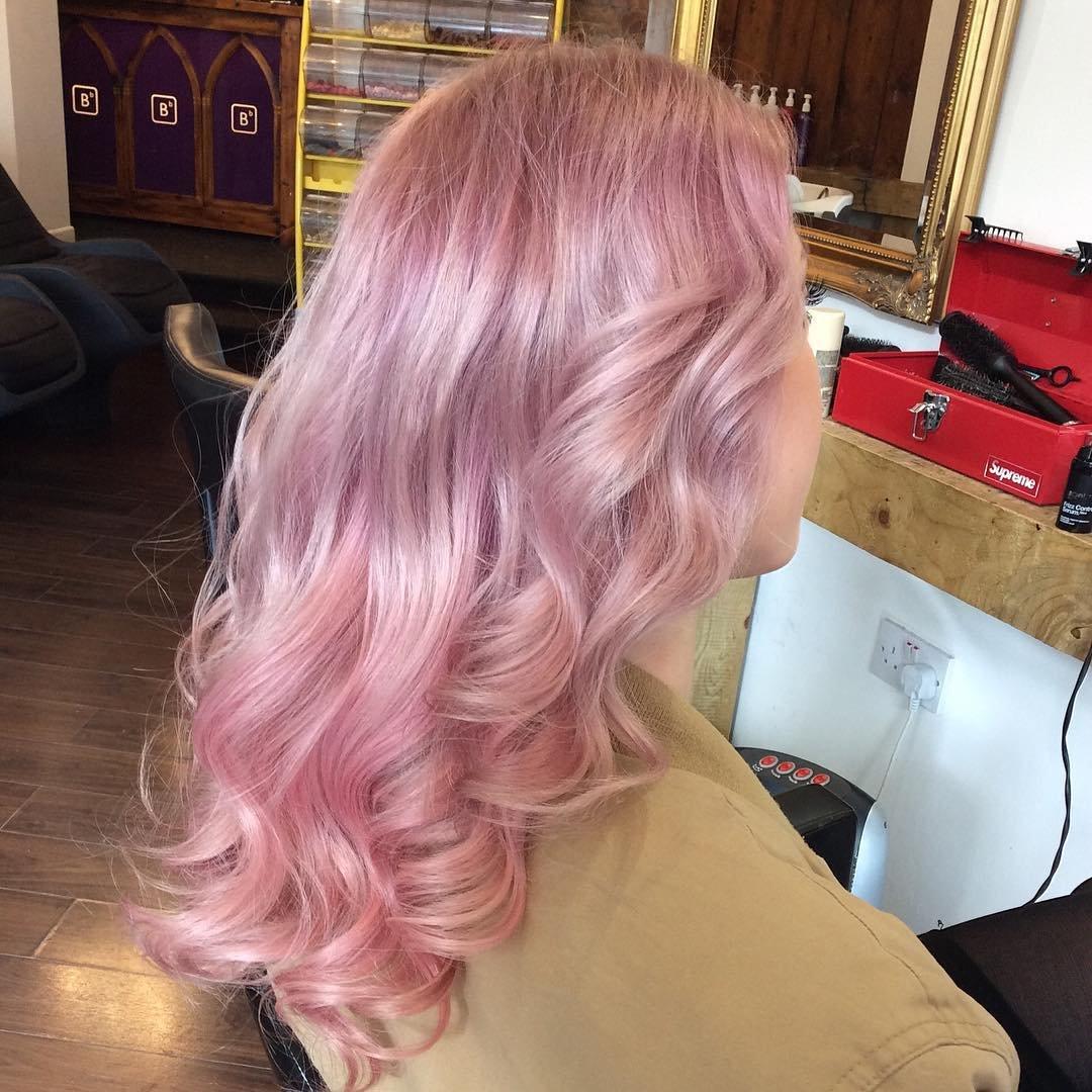 Как сделать фото с розовым оттенком