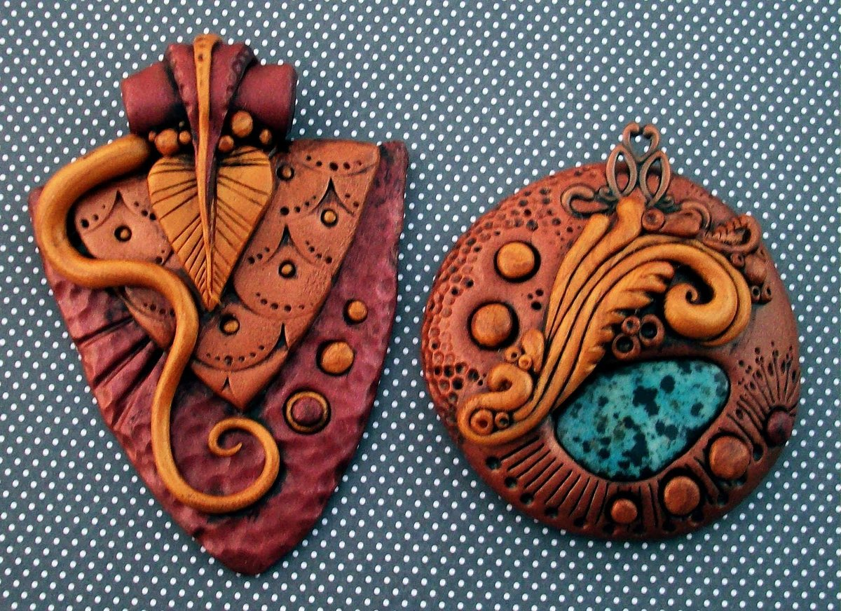 Полимерная глина своими руками изделия
