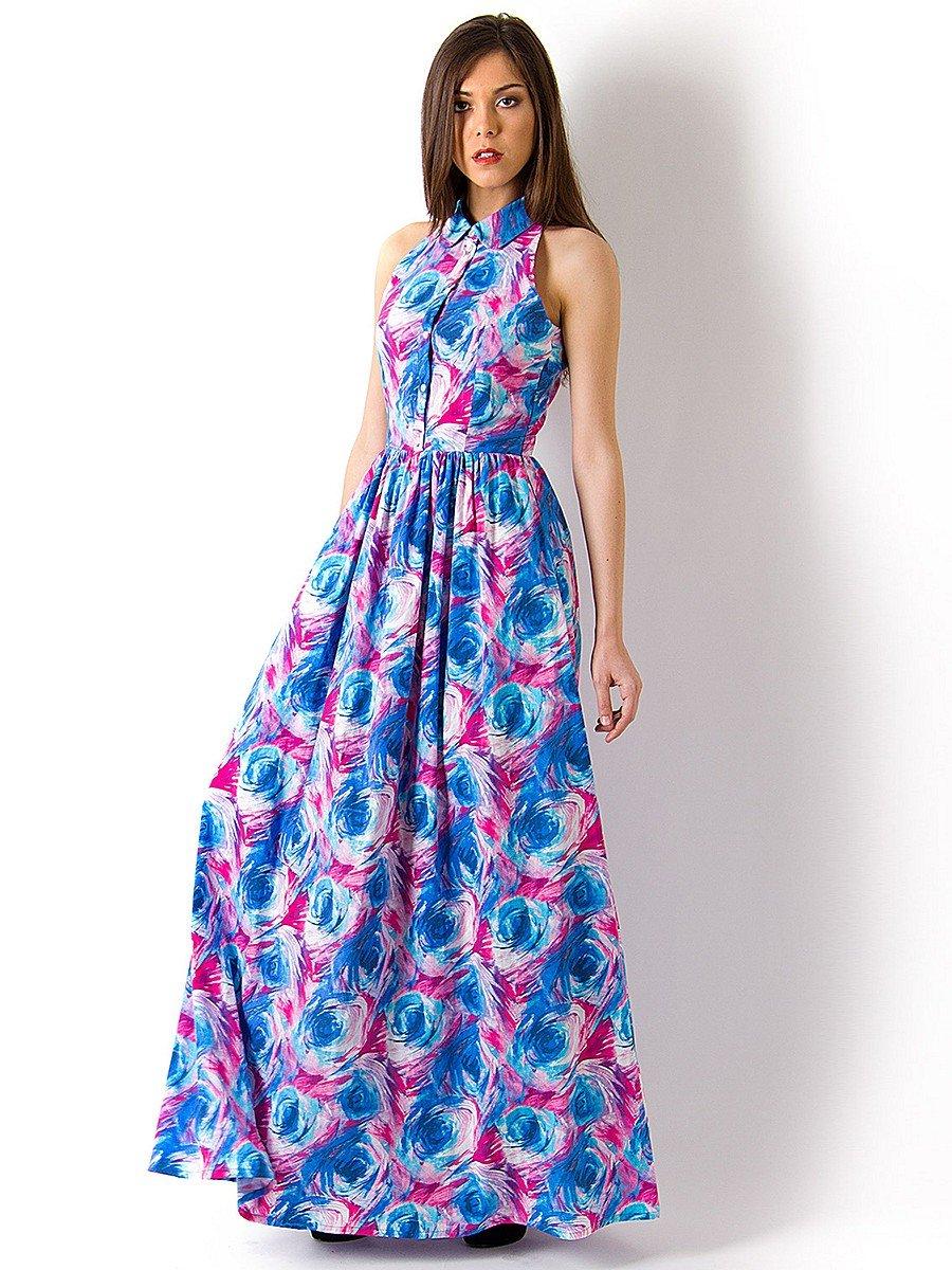 Фасоны длинных платьев летнее