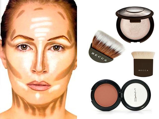 Что нужно для макияжа лица в домашних  966