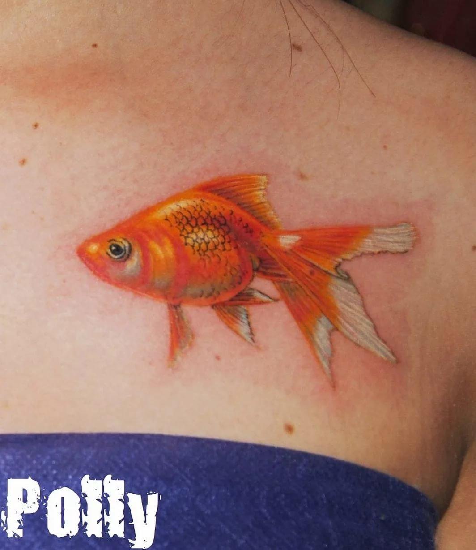 Эскизы тату золотая рыбка: рисунки для татуировки
