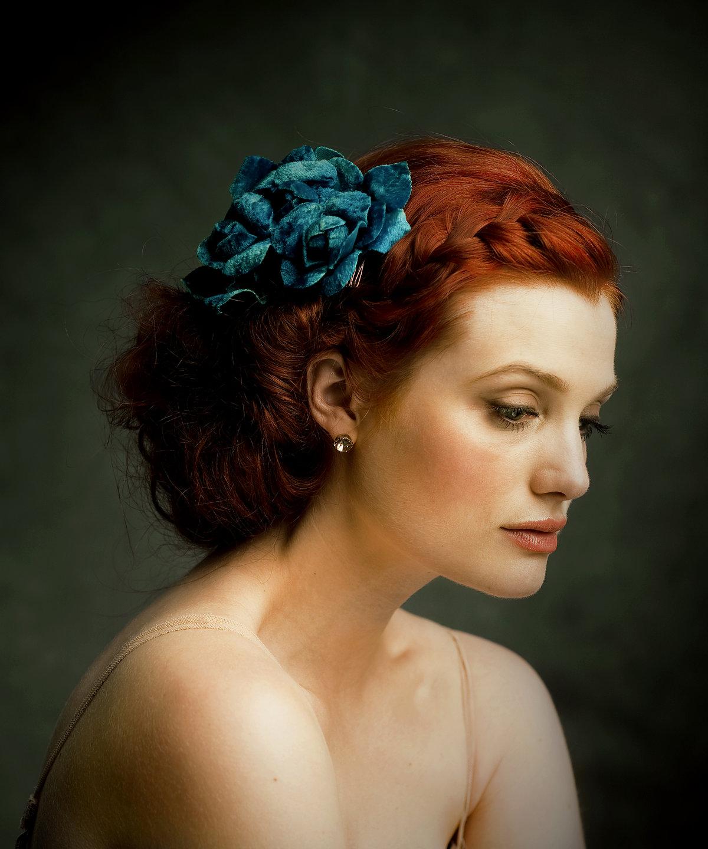 Прически на рыжие волосы на свадьбу