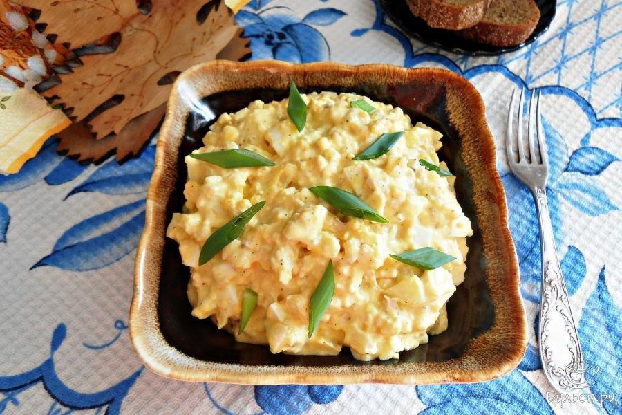 Салат с печенью трески рецепт очень вкусный мимоза 17
