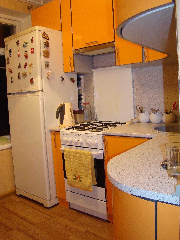 Дизайн кухни 5 квм в с газовой колонкой