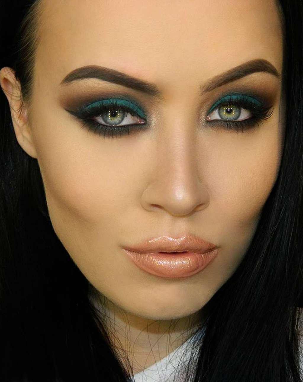 Смоки макияж в фото