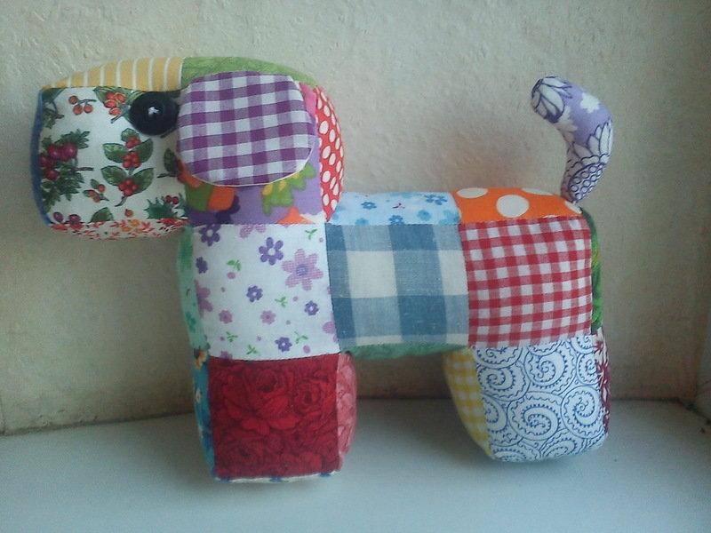 Лоскутное шитье. игрушки