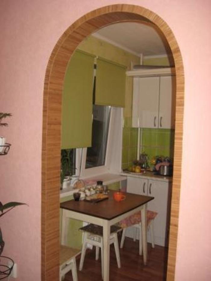 Сделать арку своими руками в кухню