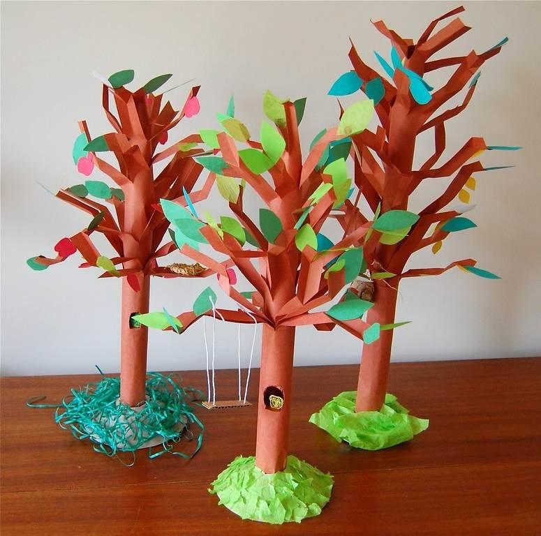 Из чего можно сделать дерево для поделки 42