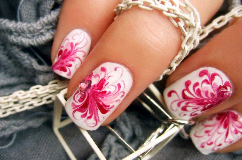 Дизайн ногтей-иголкой