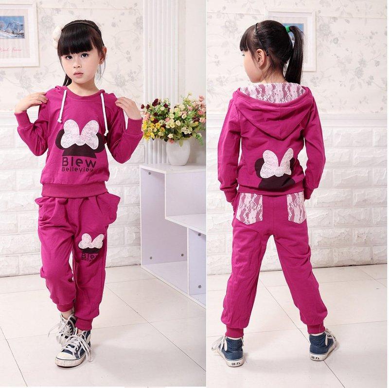 Модные детские спортивные костюмы