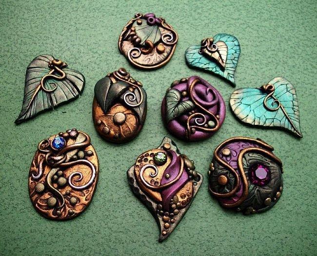 Изделия из глины своими руками камни на участке своими руками 26