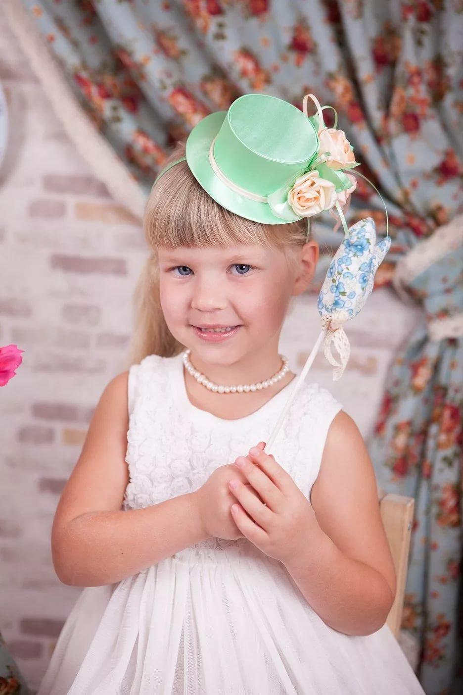 Как сделать шляпку красивую на девочку