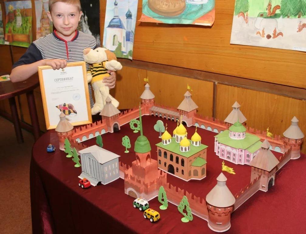 Конкурсные работы детей на тему: Мой любимый город