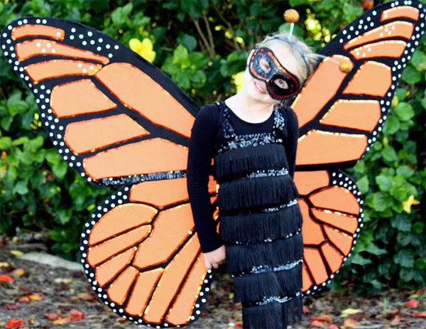 Костюм для бабочки своими руками 421