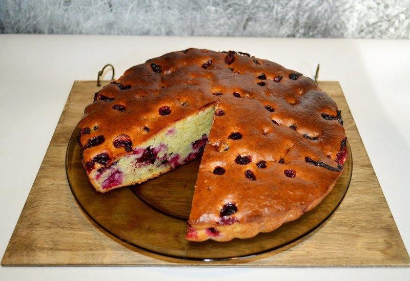 Пирог с кекс