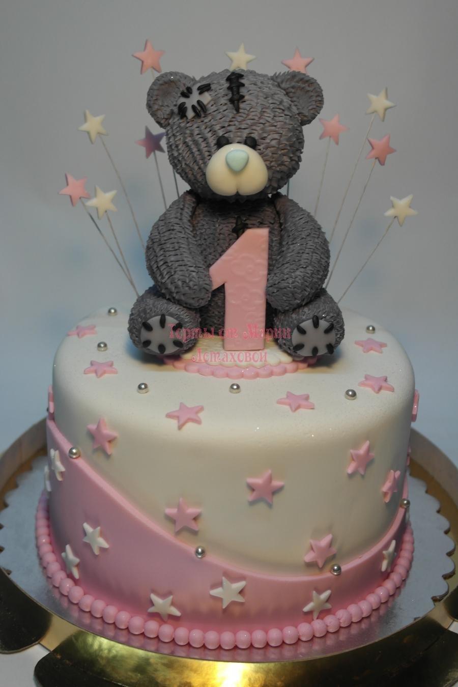 Торт мишка тедди своими руками