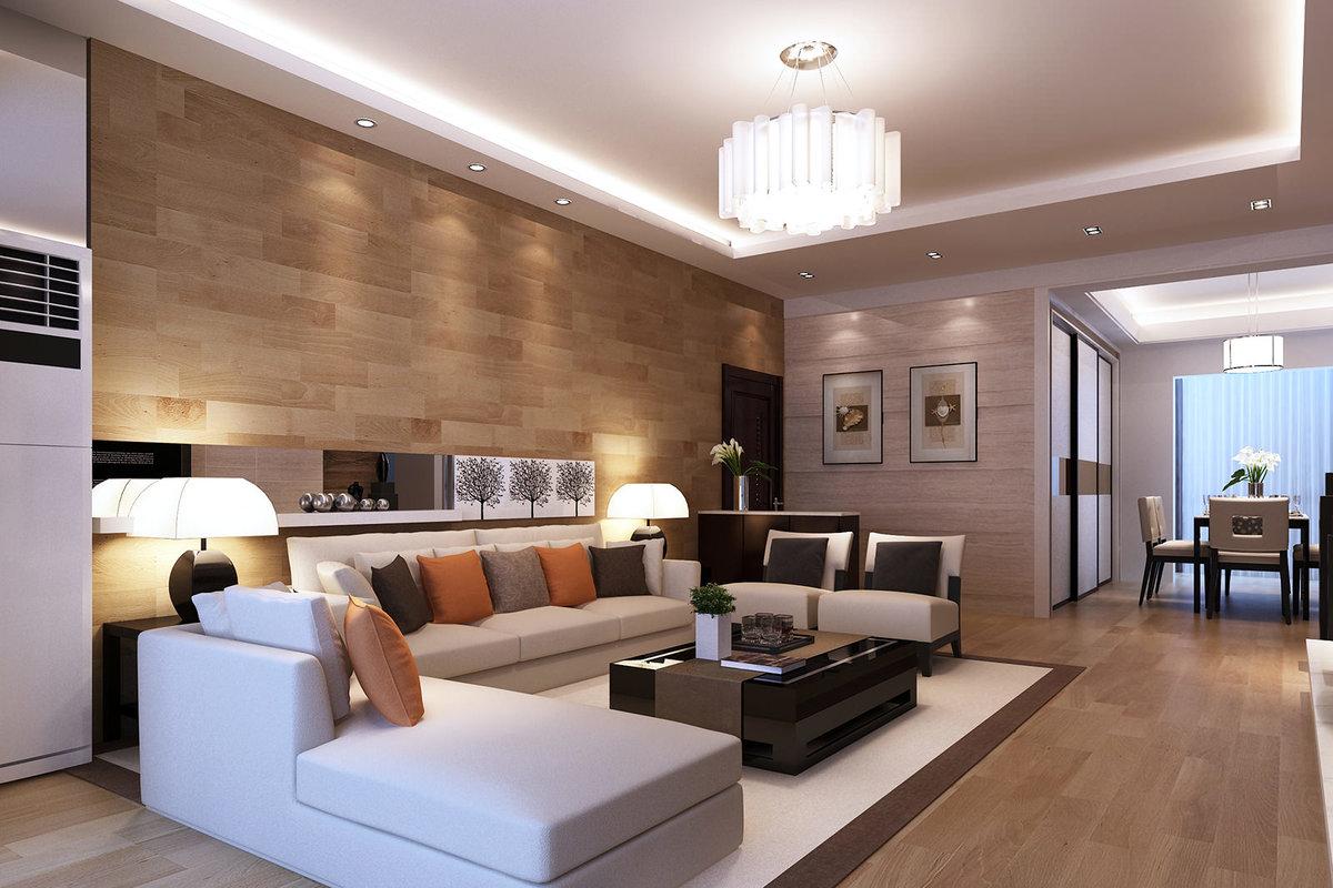 Дизайн гостиной стены ламинат