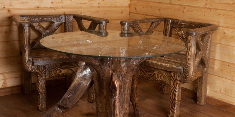 Мебель под старину из дерева своими руками  178