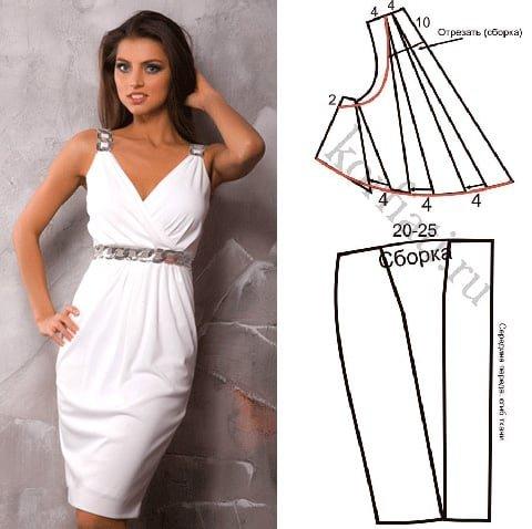 Как сшить платье греческого стиля выкройки 577