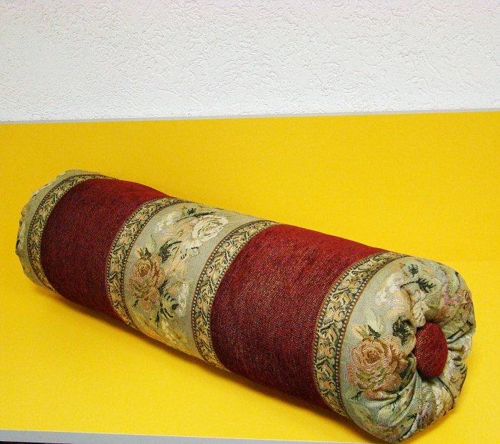 Как сшить декоративную подушку валик 75