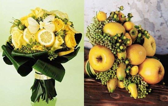 Осенние букеты своими руками из овощей 8