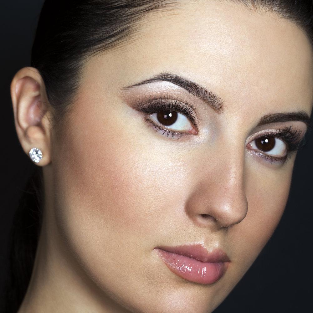 Натуральный макияж фото для карих глаз