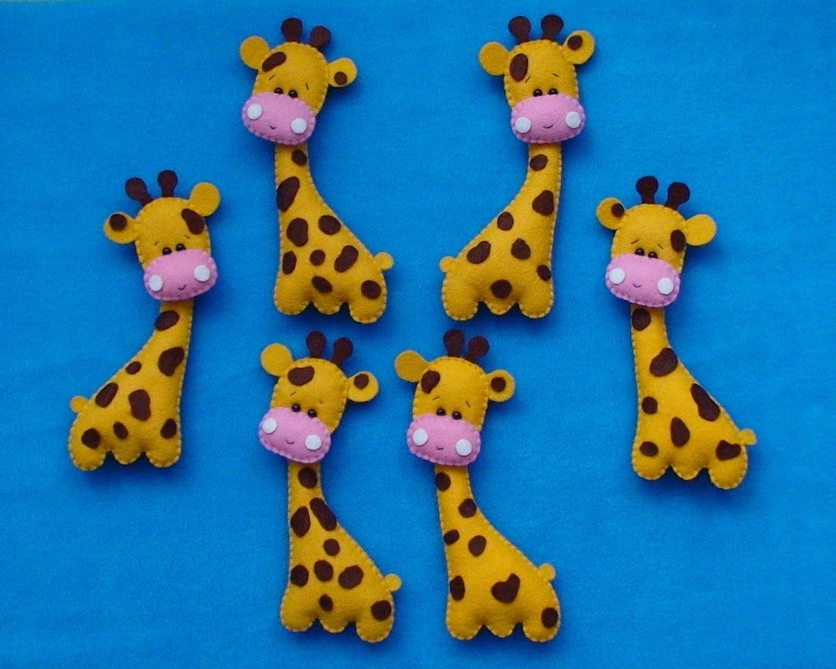Жираф игрушка шаблоны своими руками из фетра
