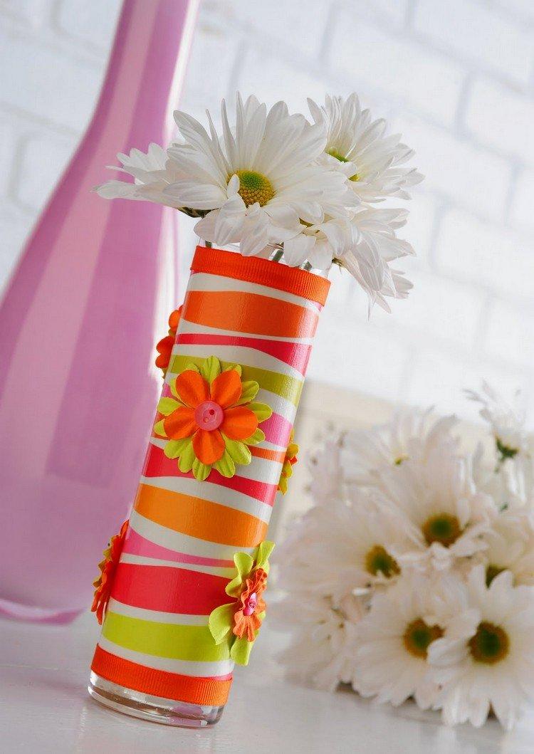 Как украсить вазу своими руками фото 5