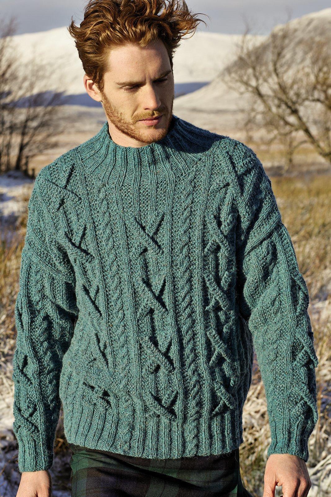 Джемпер. вязание для мужчин 806