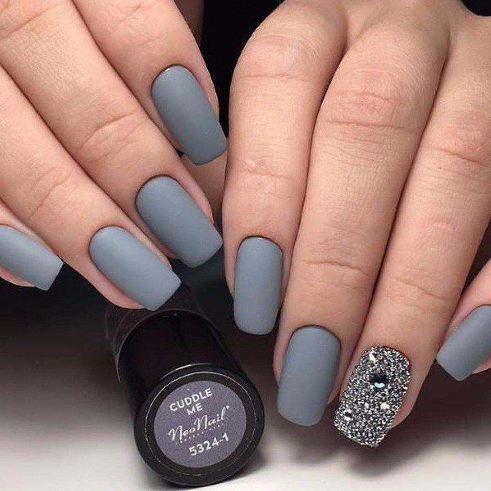 Красивые Квадратные Ногти С Рисунком Фото
