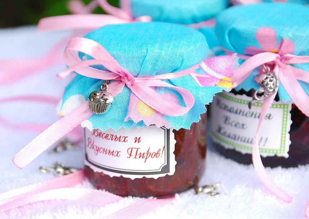 Баночки с медом на свадьбу своими руками 48