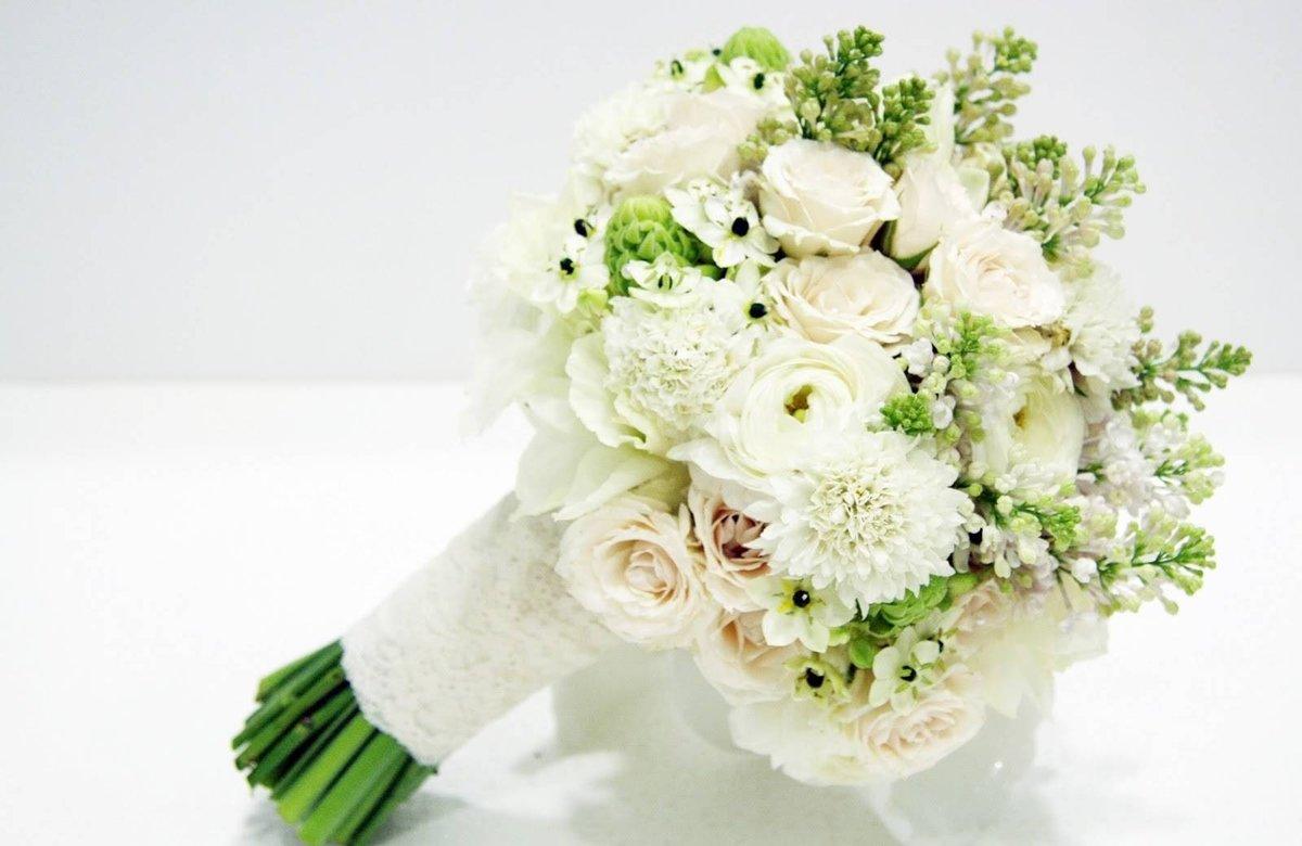 Букет невесты из хризантем как сделать 45