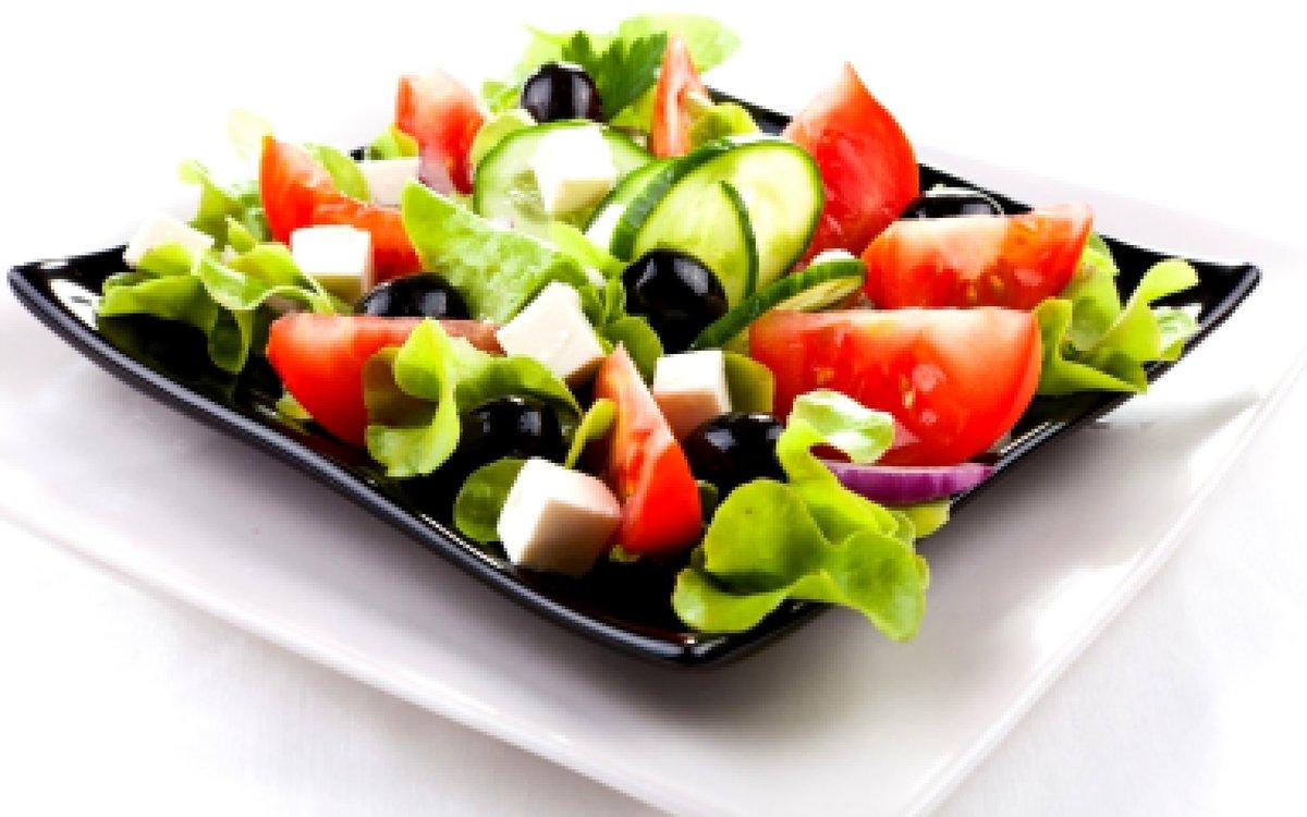 Классический рецепт греческого салата пошагово в
