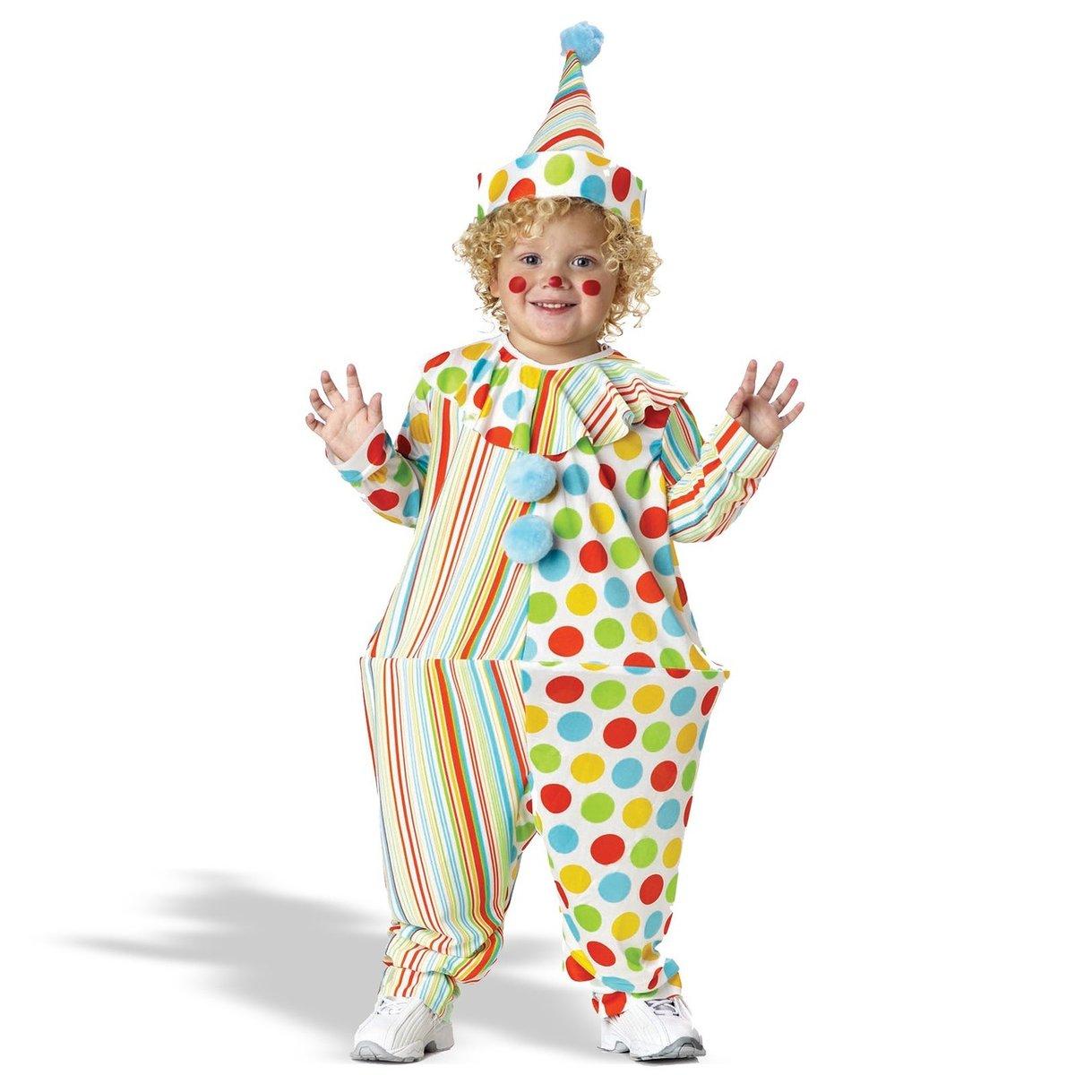 Детский костюм клоуна своими руками
