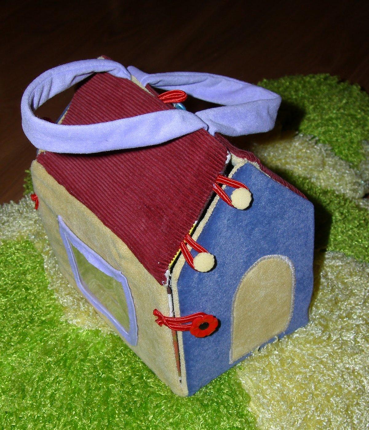 Развивающие домики для детей своими руками фото