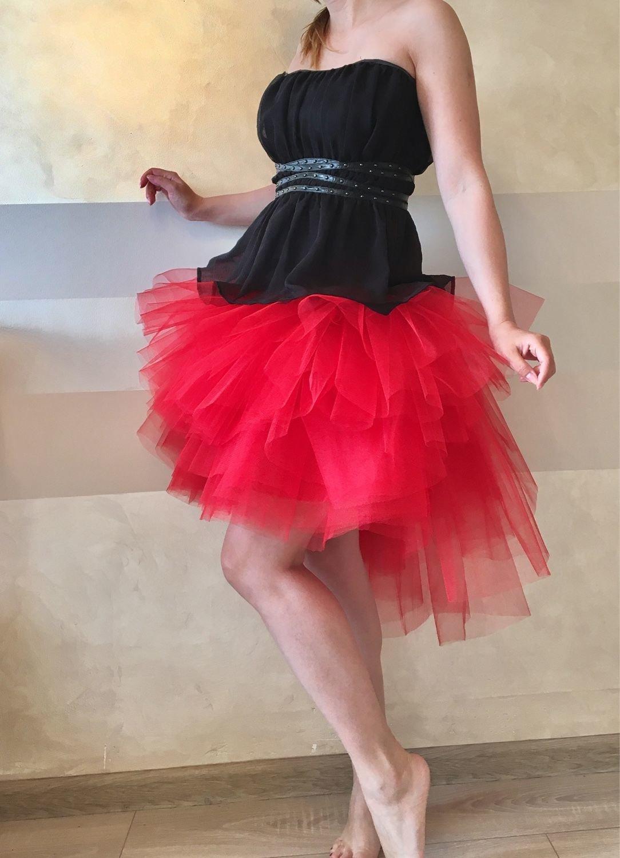 Пышная юбка из фатина для женщин своими руками