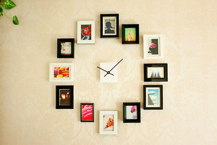 Сделать часы своими руками с фотографиями