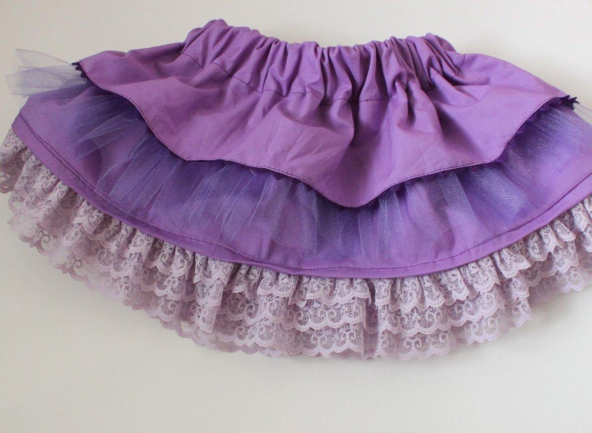 Как сшить юбку для девушки своими руками