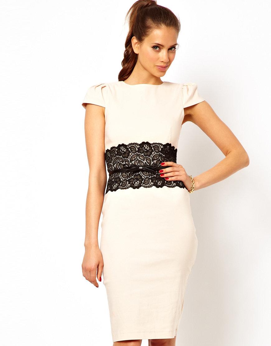 Белое платье с кружевом своими руками 13