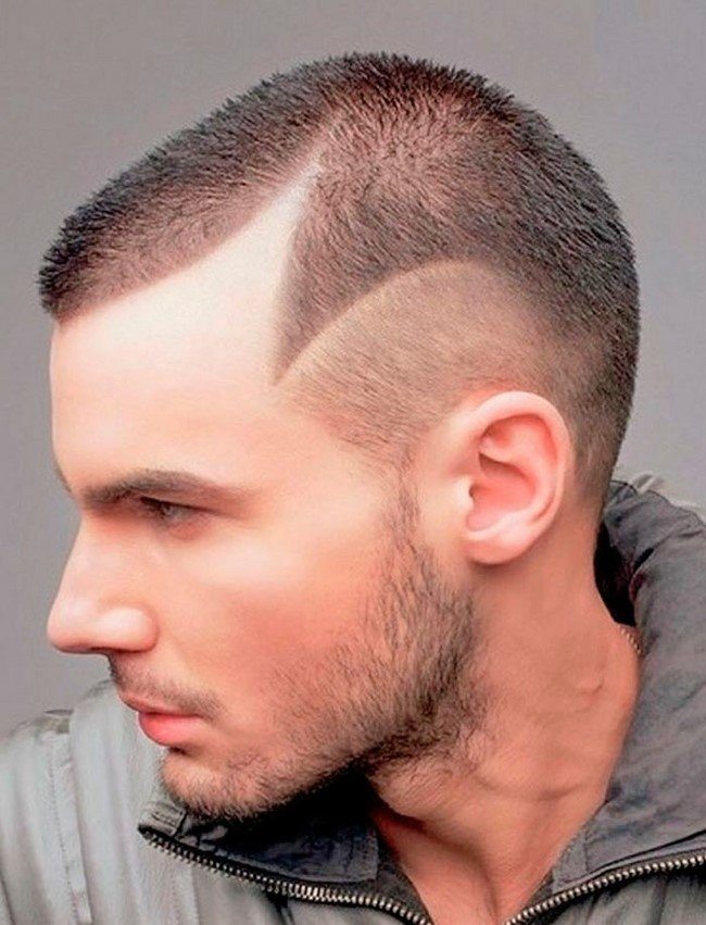 Прически на короткие волосы для мужчин