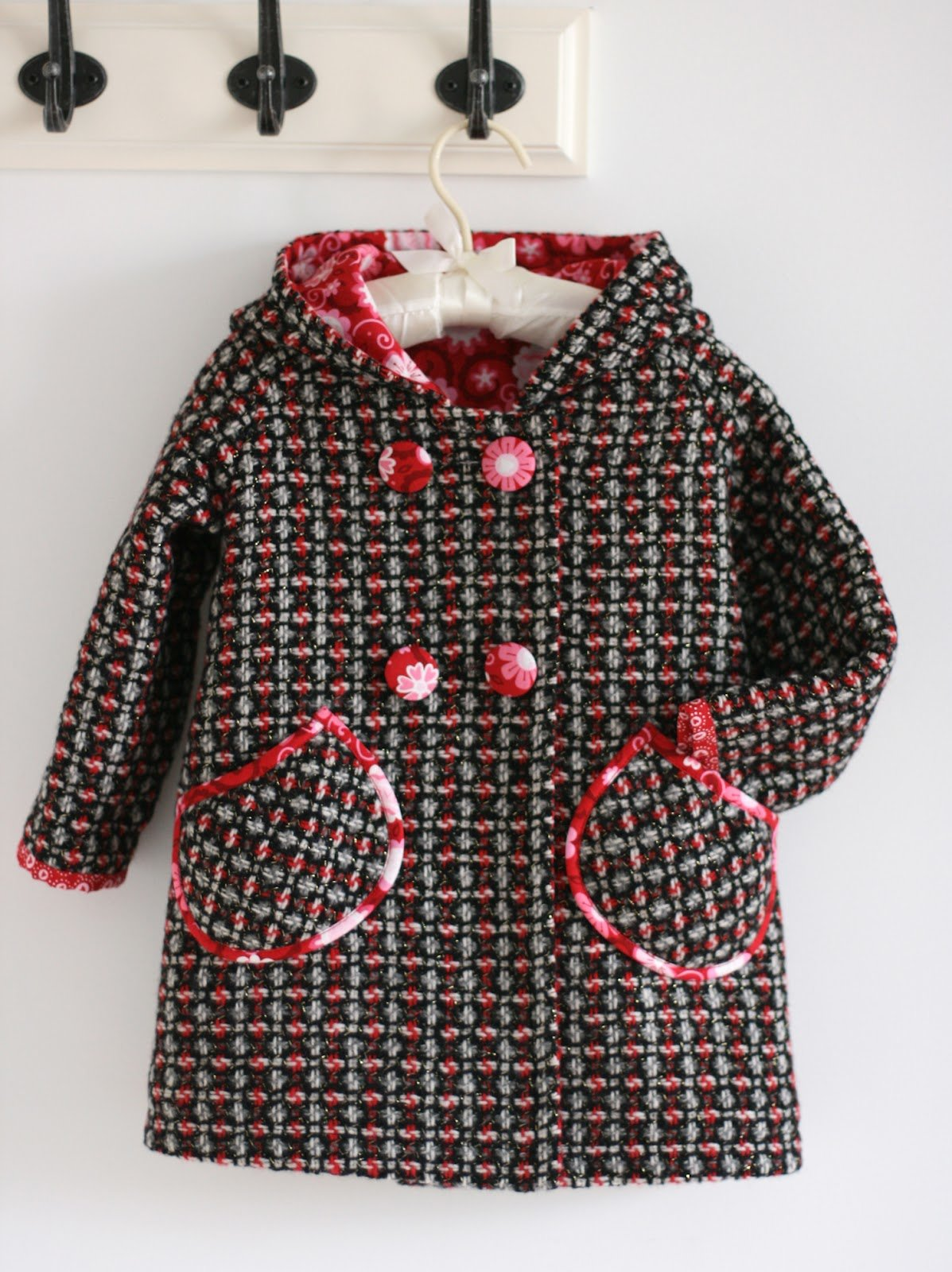Как сшить пальто своими руками, выкройка (зимнее, осеннее) 71